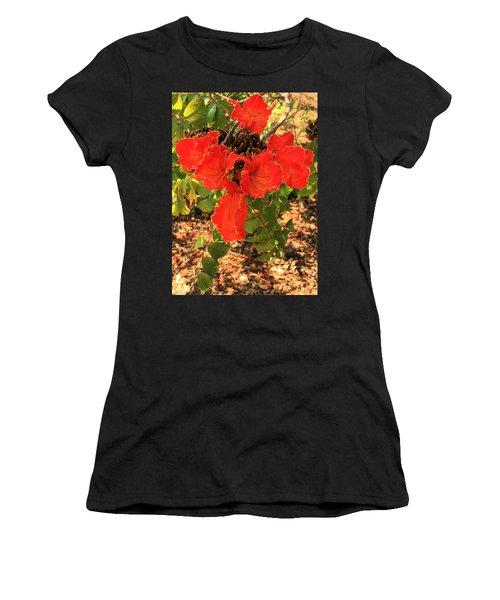 Tulip Tree Flowers Women's T-Shirt