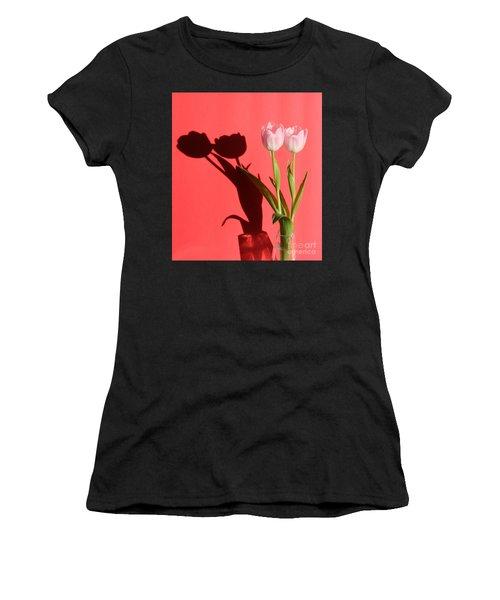 Tulips Casting Shadows Women's T-Shirt