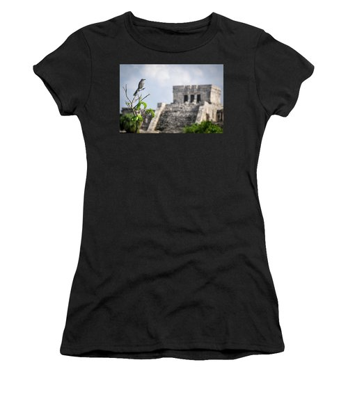 Tulum Mayan Ruins Women's T-Shirt (Athletic Fit)