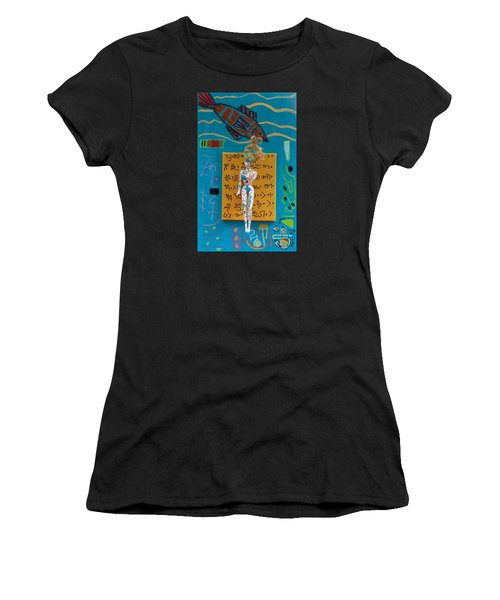 Turmeric Herbal Tincture Women's T-Shirt (Junior Cut) by Clarity Artists