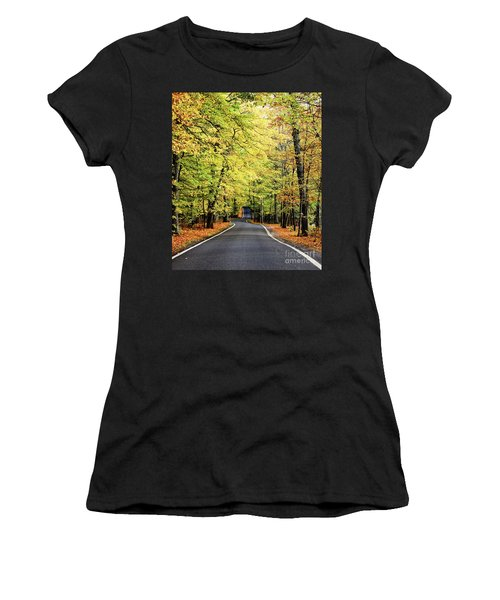 Tunnel Of Trees Women's T-Shirt