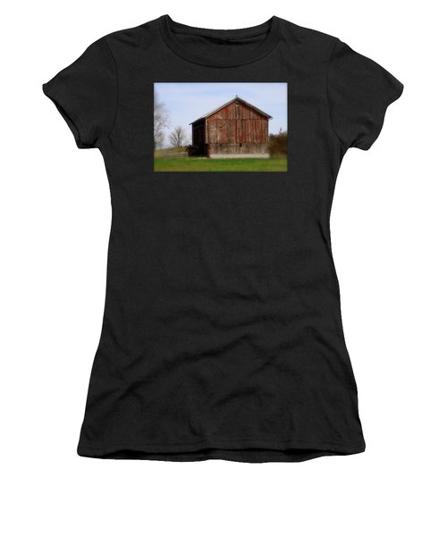 Turkey Vultures Hovering Around The Barn Women's T-Shirt