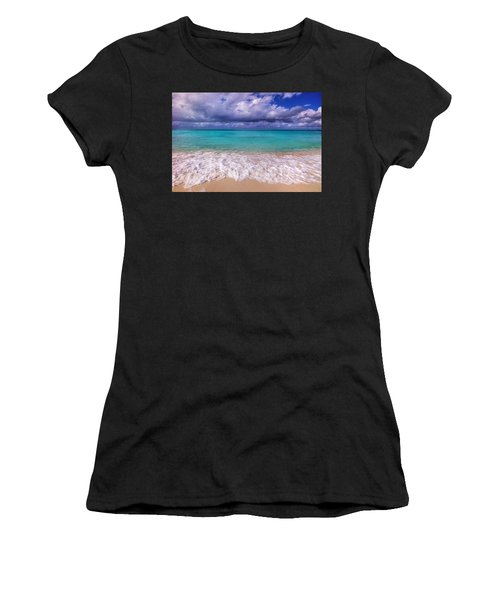 Turks And Caicos Beach Women's T-Shirt (Athletic Fit)