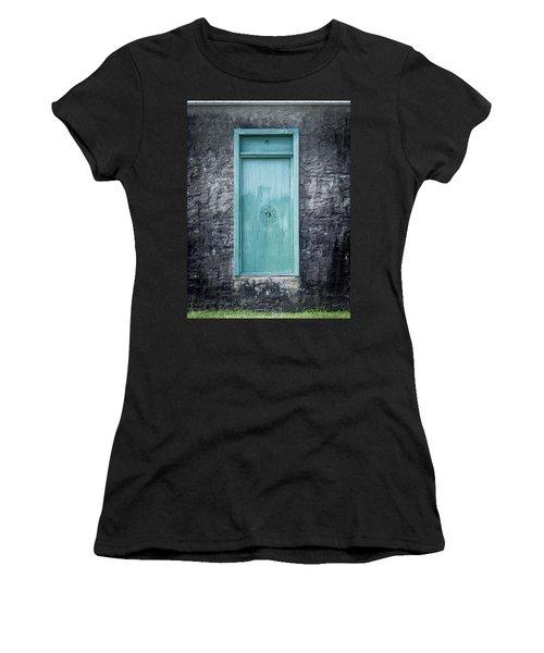 Turquoise Door Women's T-Shirt