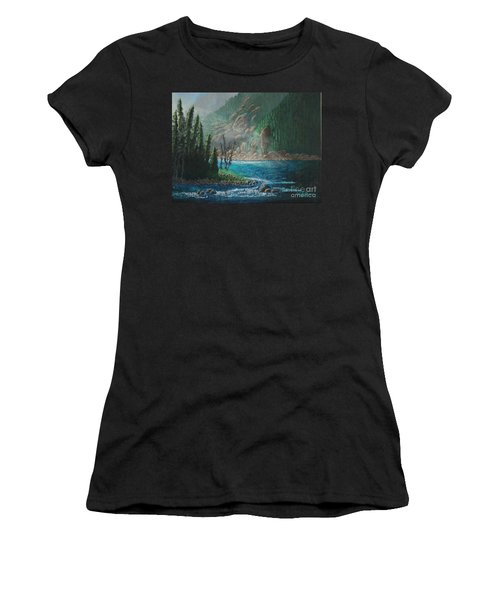 Turquoise River Women's T-Shirt