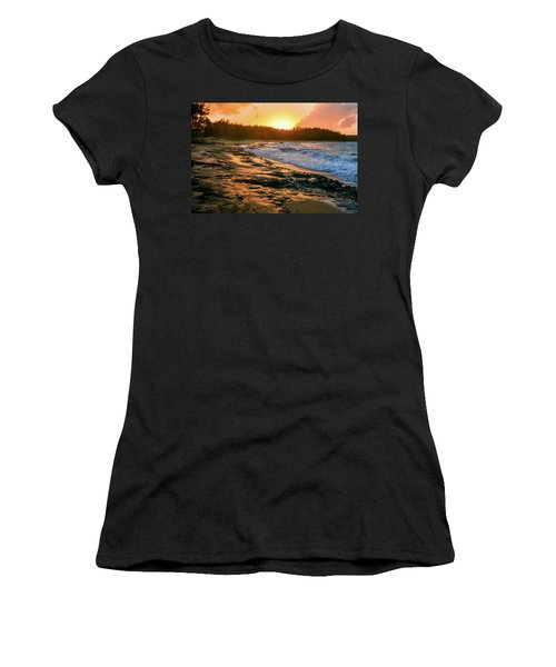 Turtle Bay Sunset 2 Women's T-Shirt
