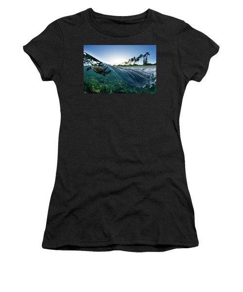 Turtle Split Women's T-Shirt
