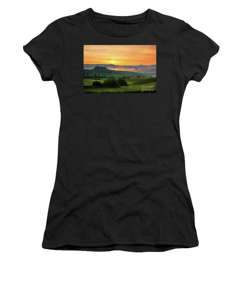 Tuscan Dream II Women's T-Shirt (Athletic Fit)