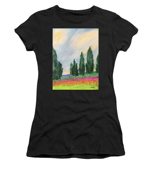 Tuscany Dream Women's T-Shirt (Athletic Fit)