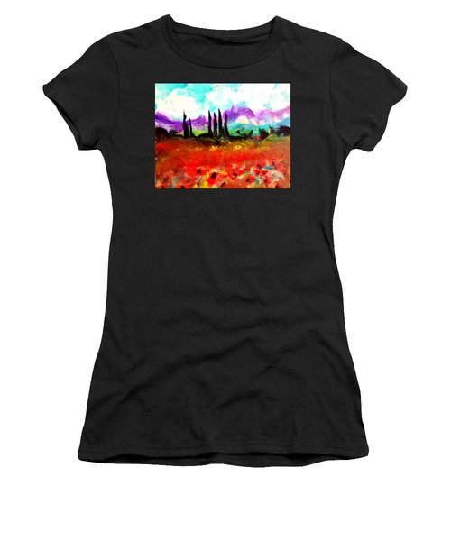 Tuscany Fields Women's T-Shirt