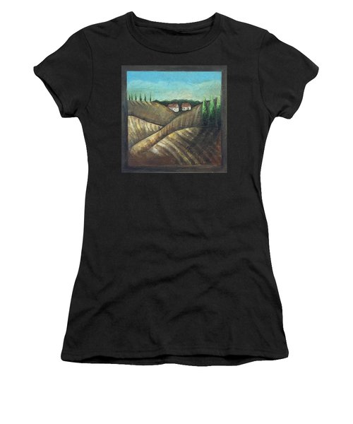 Tuscany Trees Women's T-Shirt (Athletic Fit)
