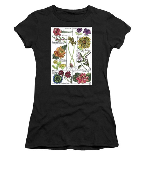 Twelve Month Flower Box Women's T-Shirt