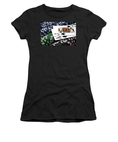 Twenty One Women's T-Shirt (Athletic Fit)