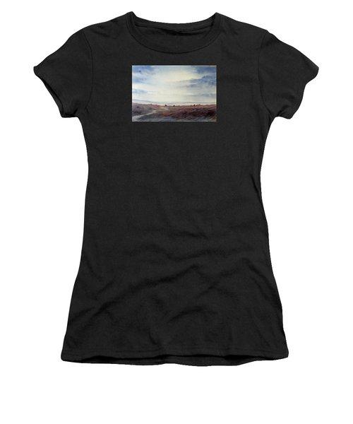 Twilight Settles On The Moors Women's T-Shirt