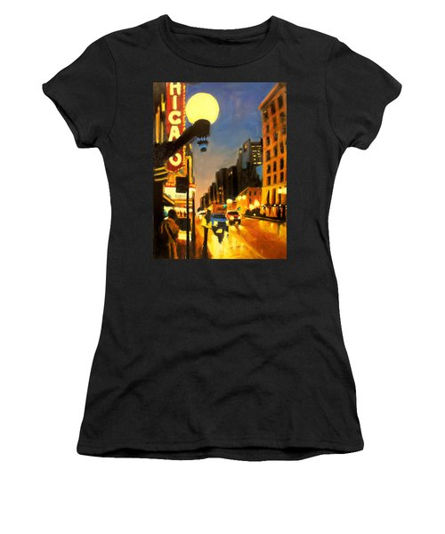 Twilight In Chicago - The Watcher Women's T-Shirt