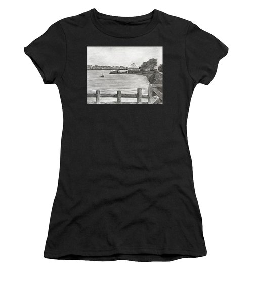 Twilight On Tomales Bay Women's T-Shirt (Athletic Fit)