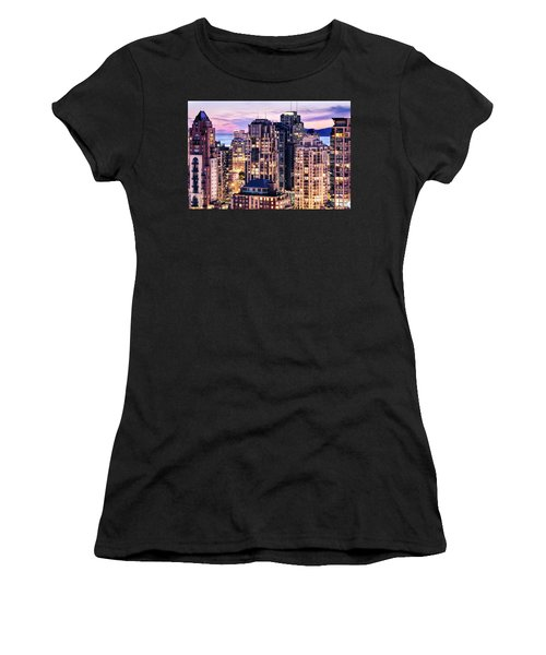Twilight At English Bay Vancouver Women's T-Shirt