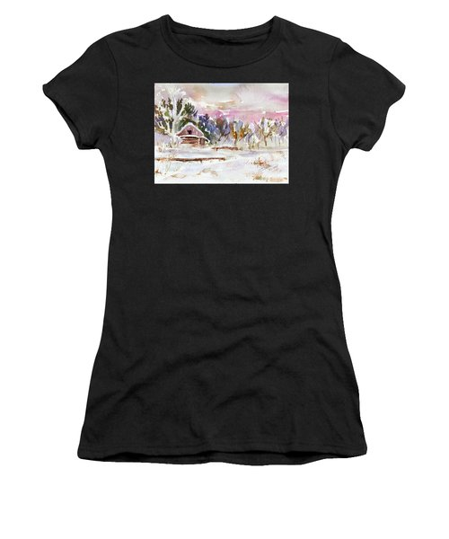 Twilight Serenade I Women's T-Shirt (Athletic Fit)