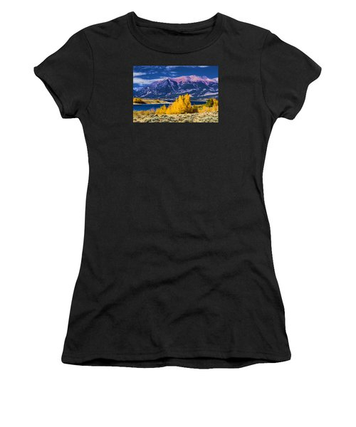 Twin Lakes Women's T-Shirt (Athletic Fit)