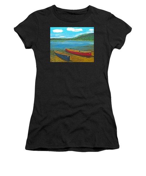 Two Canoes Women's T-Shirt