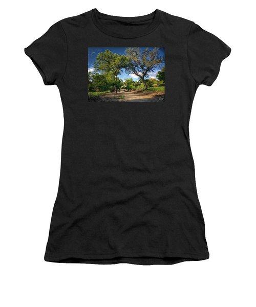 Two Old Oak Trees Women's T-Shirt