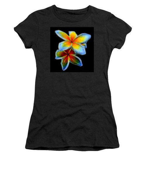Two Plumerias Women's T-Shirt