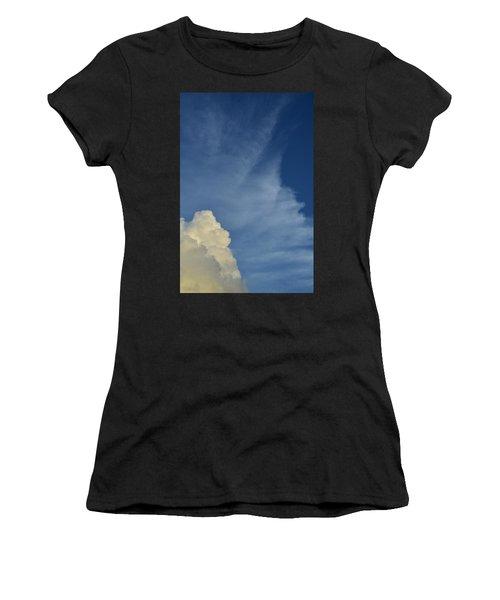 Two Tone Clouds 9384 Women's T-Shirt
