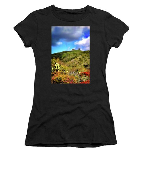 Two Trees In Spring Women's T-Shirt
