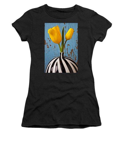 Two Yellow Tulips Women's T-Shirt