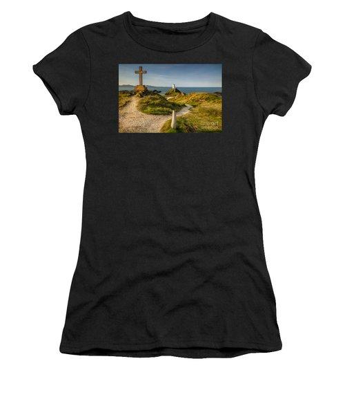Twr Mawr Lighthouse Women's T-Shirt