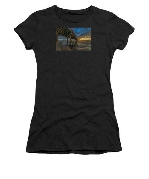 Tybee Island Beach Pier  Women's T-Shirt
