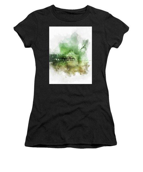 Tybee Island Pier Georgia Women's T-Shirt