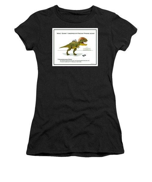 Tyrannosaurus Rump Women's T-Shirt (Athletic Fit)