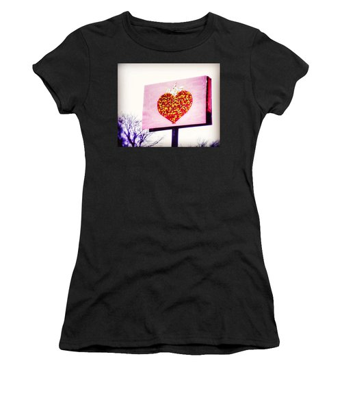 Tyson's Tacos Heart Women's T-Shirt