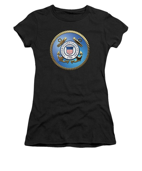 U. S. Coast Guard - U S C G Emblem Women's T-Shirt