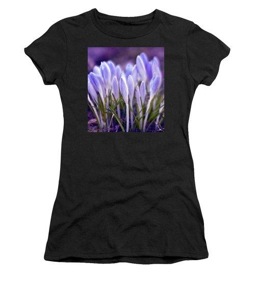 Ultra Violet Sound Women's T-Shirt (Athletic Fit)