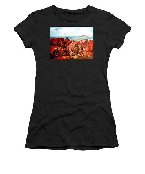 Uluru Viewed From Kata Tjuta Women's T-Shirt