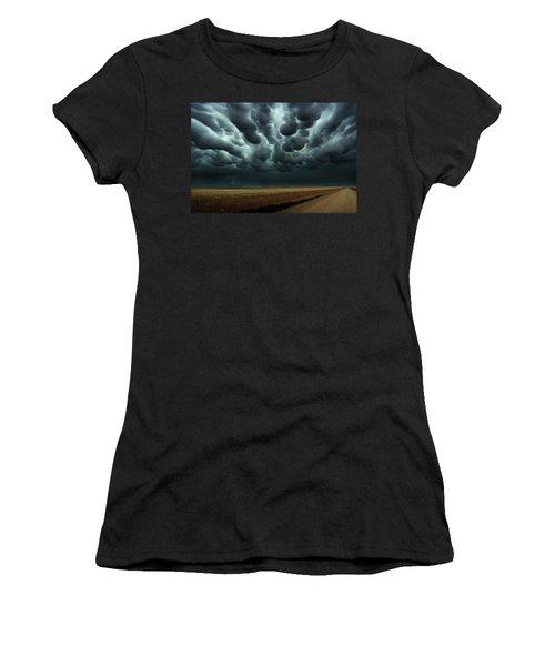 Under A Mammatus Sky Women's T-Shirt