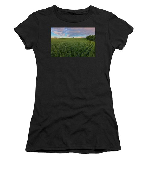 Under A Summer Sky Women's T-Shirt (Athletic Fit)
