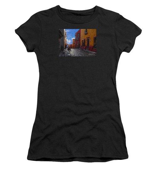 Under A Van Gogh Sky Women's T-Shirt (Athletic Fit)