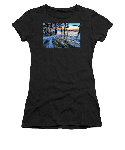 Under Cherry Grove Pier 2 Women's T-Shirt