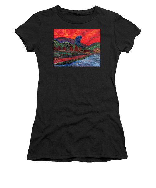 Undiscovered Great Ocean Of Truth Women's T-Shirt (Athletic Fit)