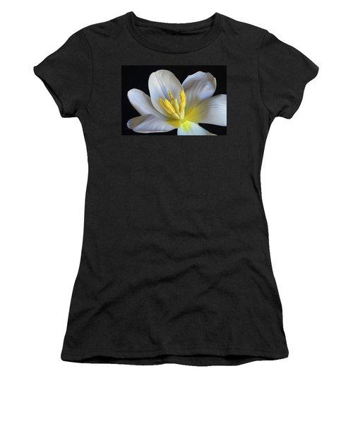 Unfolding Tulip. Women's T-Shirt (Athletic Fit)