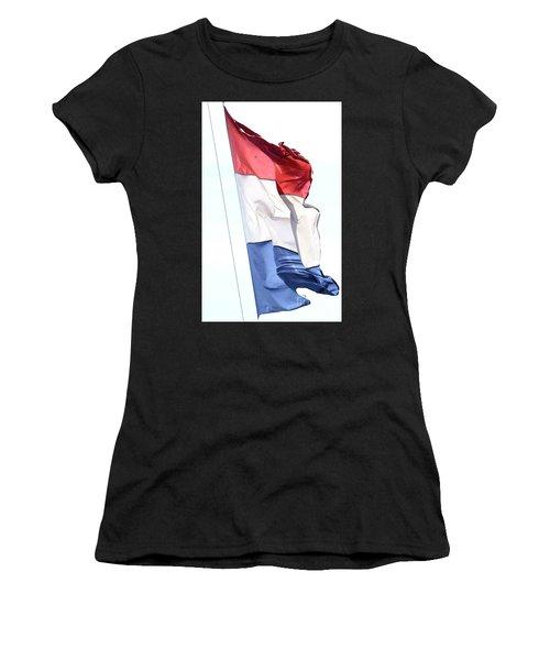 Unfurl 02 Women's T-Shirt (Athletic Fit)