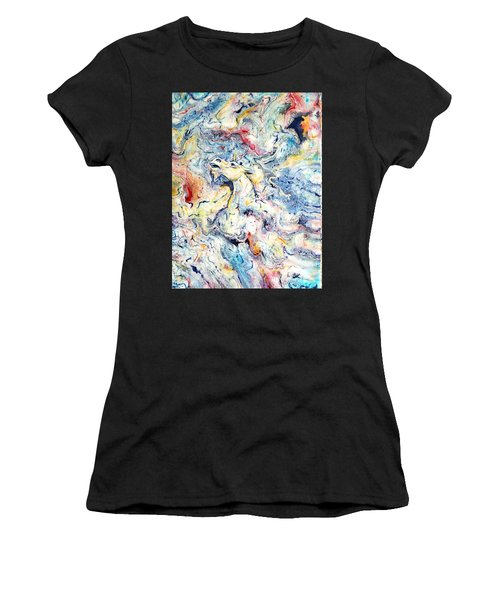 Unicorns And Rainbows  Women's T-Shirt (Athletic Fit)