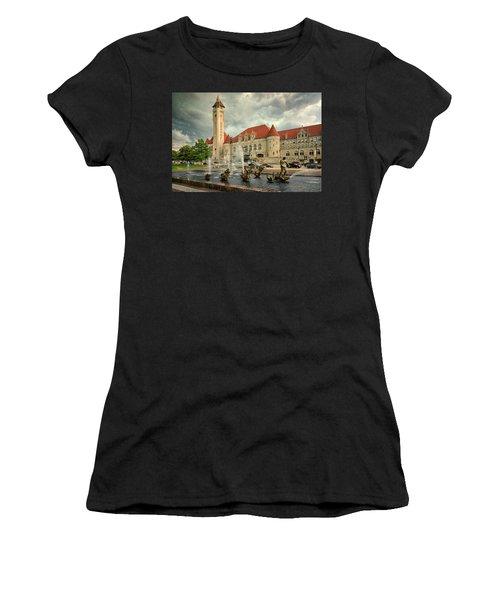 Union Station St Louis Color Dsc00422 Women's T-Shirt (Athletic Fit)