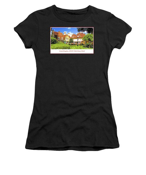 United Kingdom Buildings, Epcot, Walt Disney World Women's T-Shirt