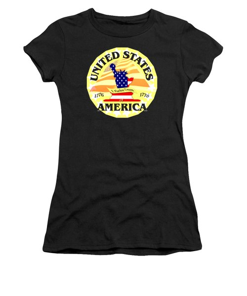 United States Of America Design Women's T-Shirt