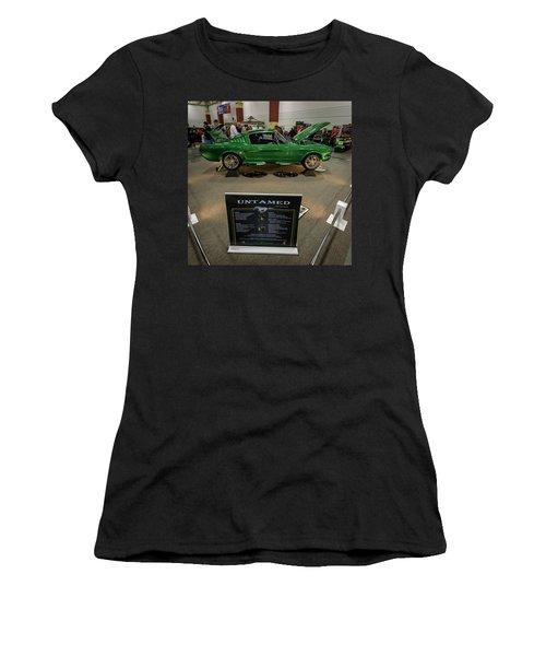 Women's T-Shirt (Junior Cut) featuring the photograph Untamed by Randy Scherkenbach