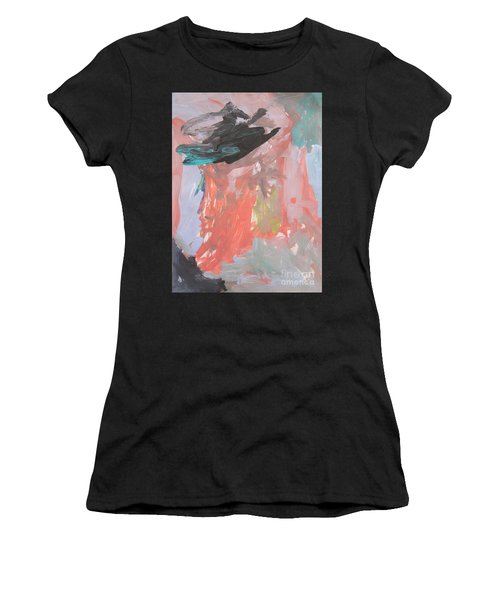 Untitled #11  Original Painting Women's T-Shirt (Athletic Fit)